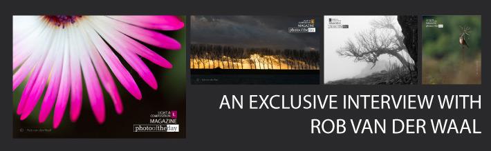 An Exclusive Interview with Rob van der Waal