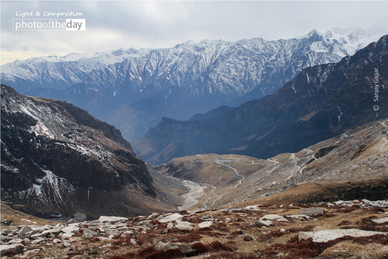 Valley Near Rohtang Pass, by Sanjay Gajjar