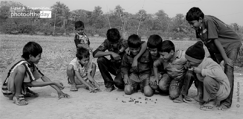 Childhood Days, by Joy Acharyya