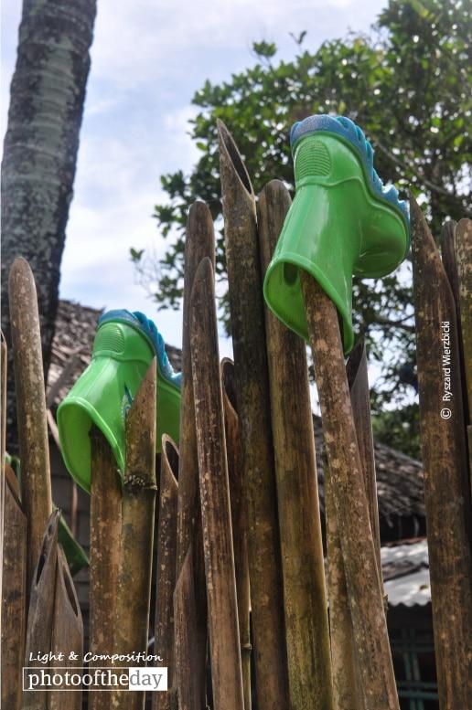 Rubber Boots, by Ryszard Wierzbicki