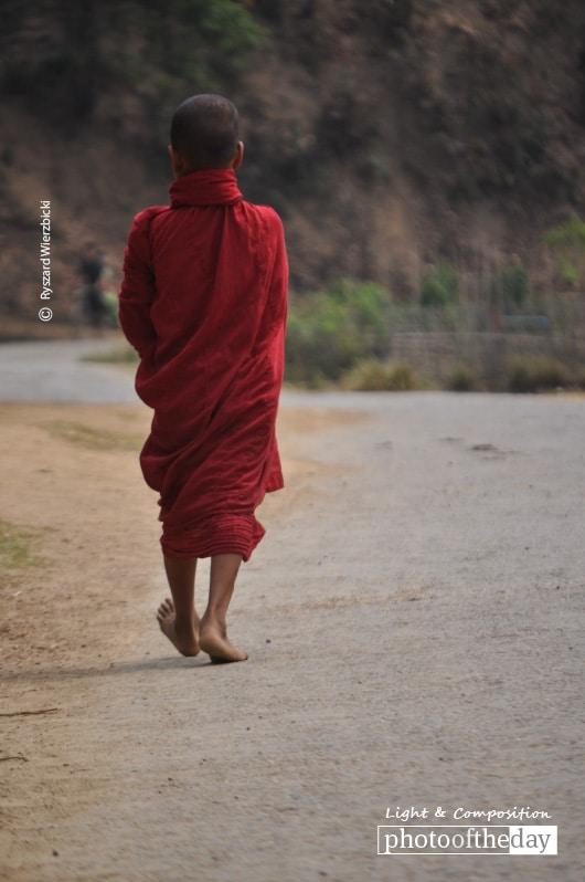 The Monk's Path, by Ryszard Wierzbicki