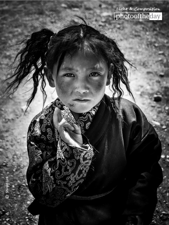 A Girl from Lake Namtso, by Shirren Lim