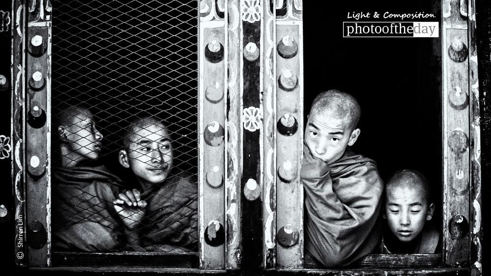 Four Monks, by Shirren Lim
