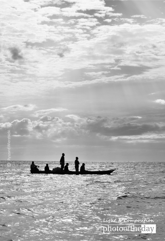 Fishermen under the Sun, by Ryszard Wierzbicki