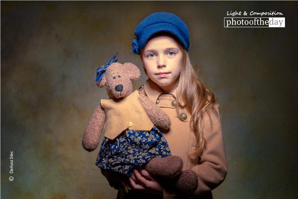Mon ours en peluche, by Dariusz Stec