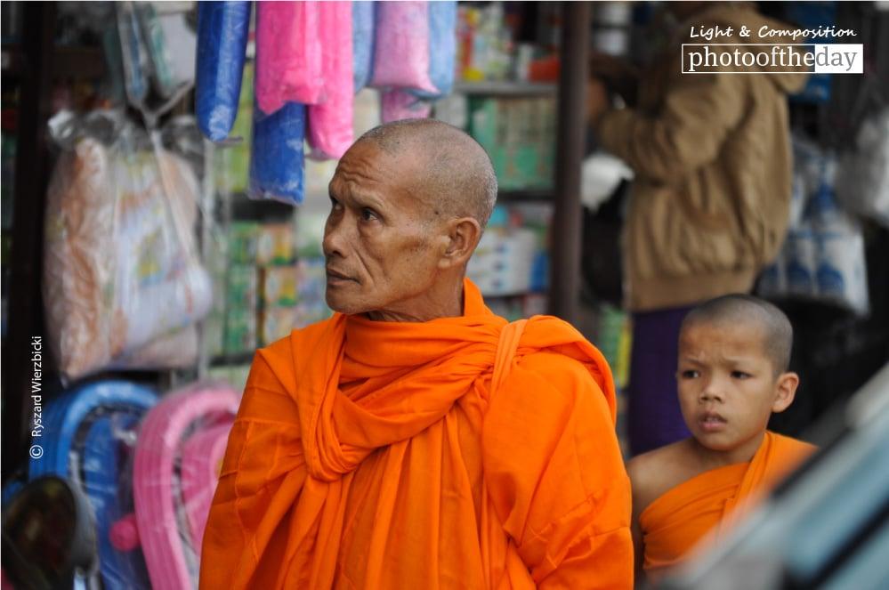 Monks in the Market, by Ryszard Wierzbicki