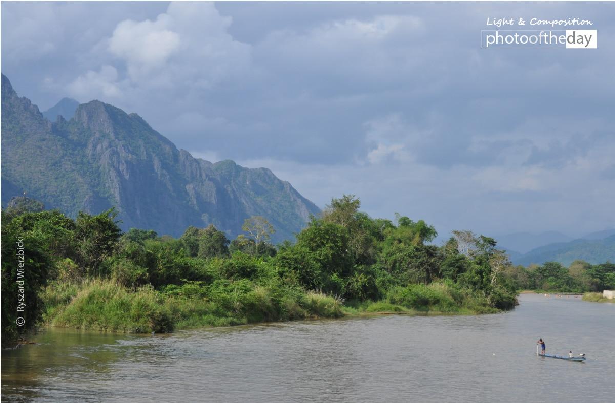 Nam Song River, by Ryszard Wierzbicki