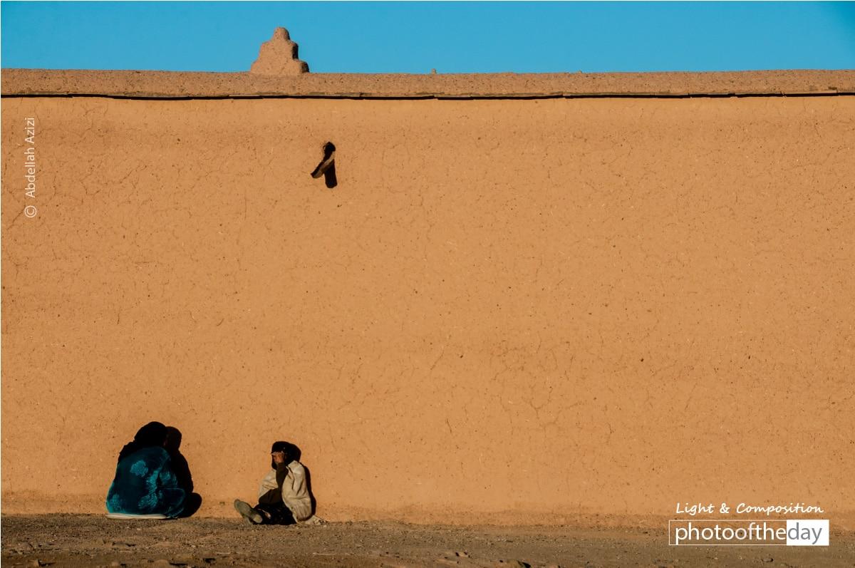 Seeking the Warmth, by Abdellah Azizi