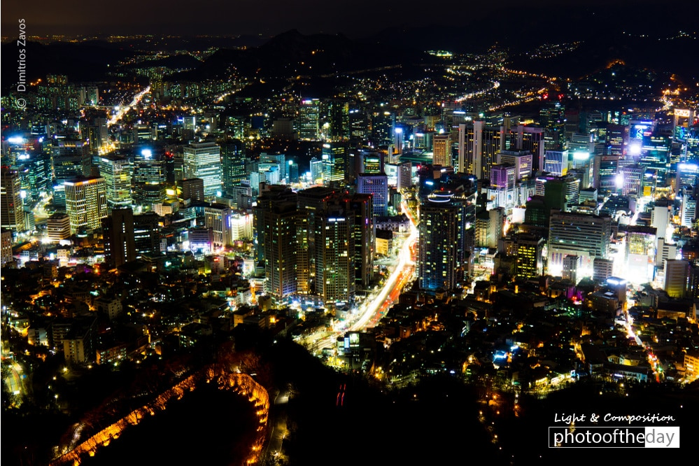 Seoul Lights, by Dimitrios Zavos
