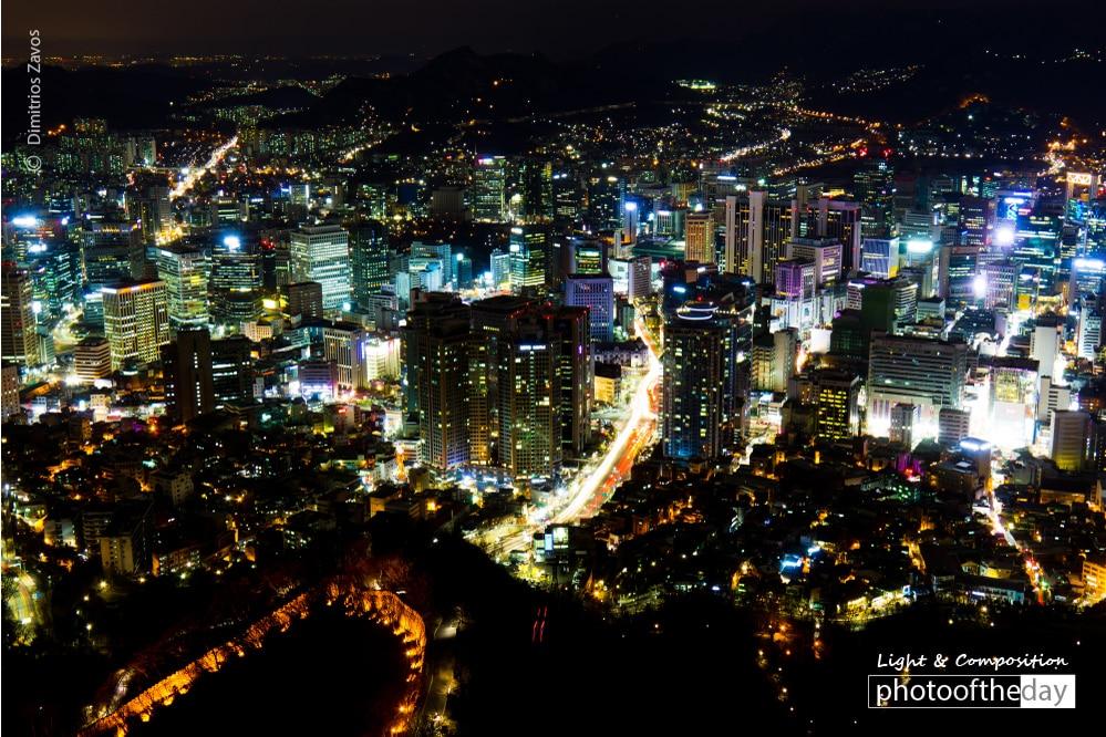 Seoul Lights, by Dimitrios Zavos