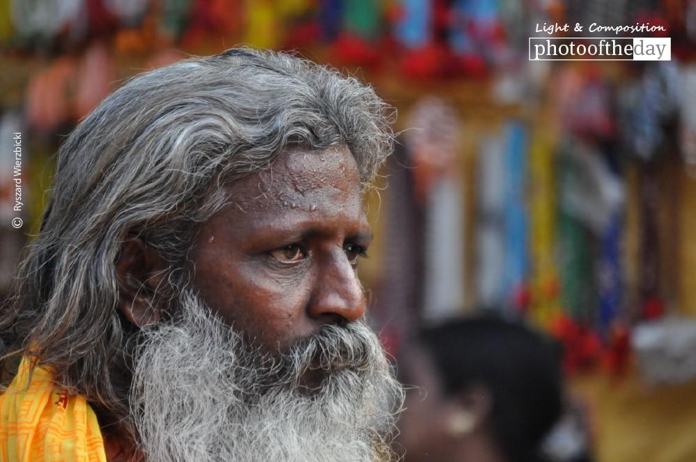 Varanasi Street Man, by Ryszard Wierzbicki