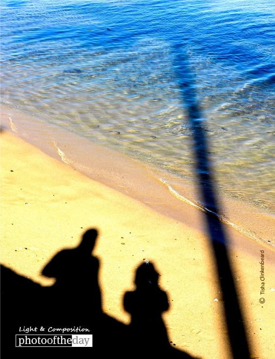 Beach Shadow, by Tisha Clinkenbeard