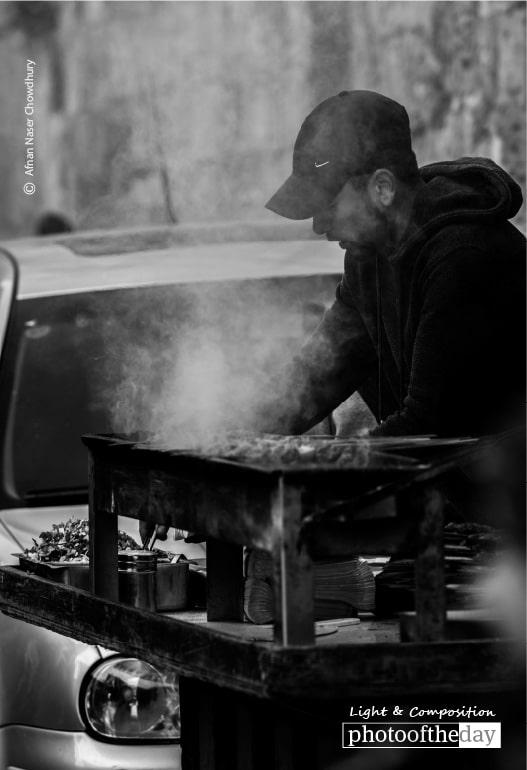 Street Kabob, by Afnan Naser Chowdhury
