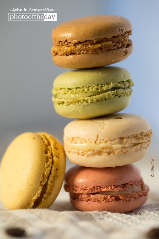 The Leaning Tower of Macaroons, by Diep Tran