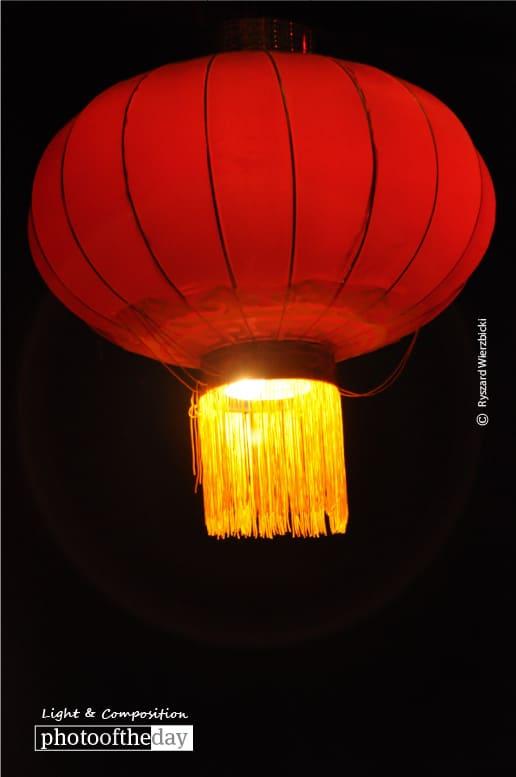 Paper Lantern, by Ryszard Wierzbicki