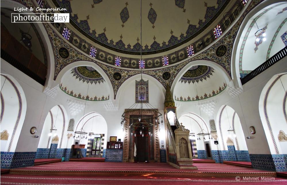 Behram Pasha Mosque in Diyarbakir, by Mehmet Masum