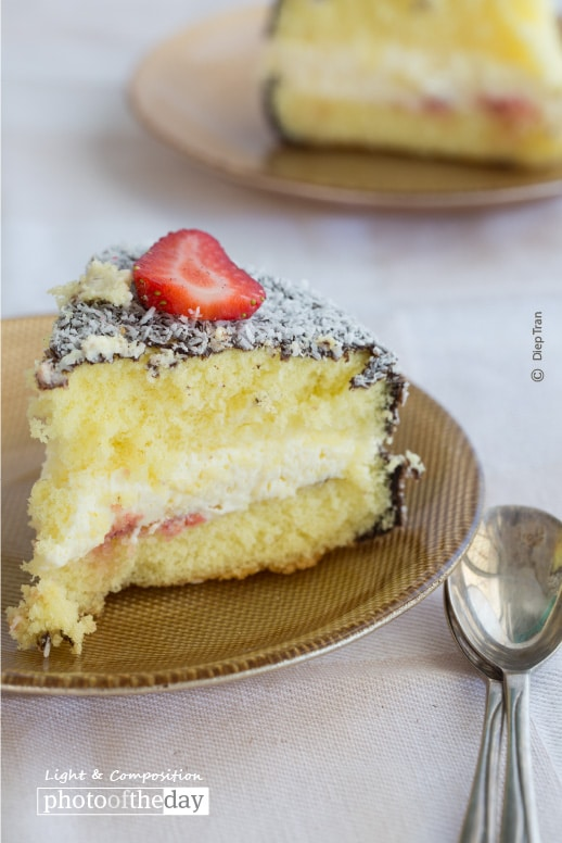 Lamington Cake, by Diep Tran
