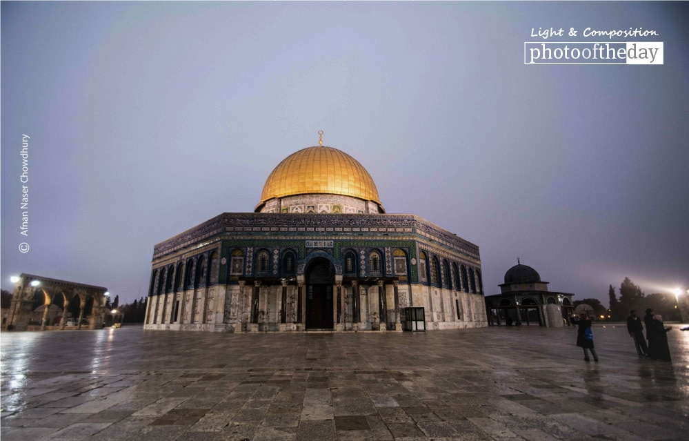 The Dome of Rock, by Afnan Naser Chowdhury