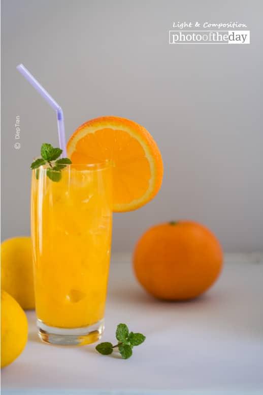 Fresh Orange Juice, by Diep Tran
