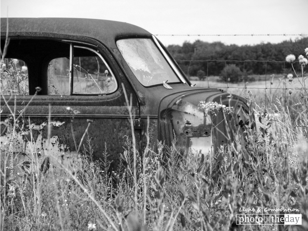 The Old Car, by Tisha Clinkenbeard