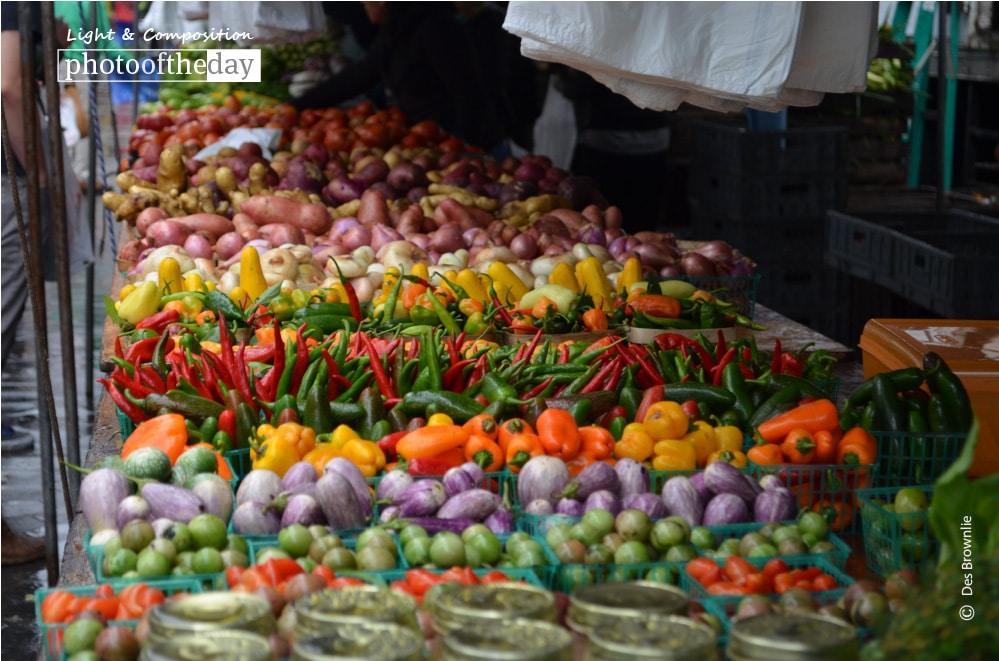 Farmer's Market, by Des Brownlie