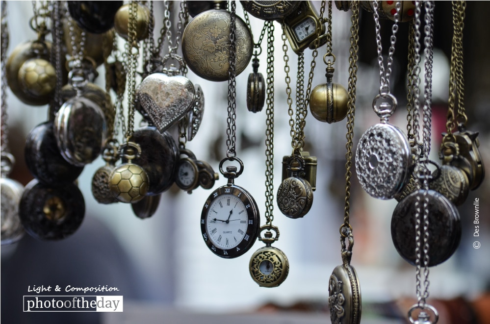 Pocket Watches, by Des Brownlie