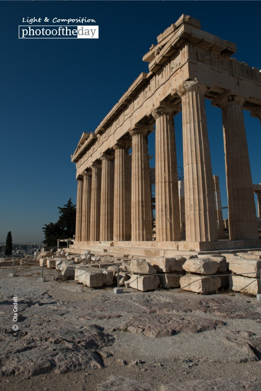 Acropolis of Athens, by Ola Cedell