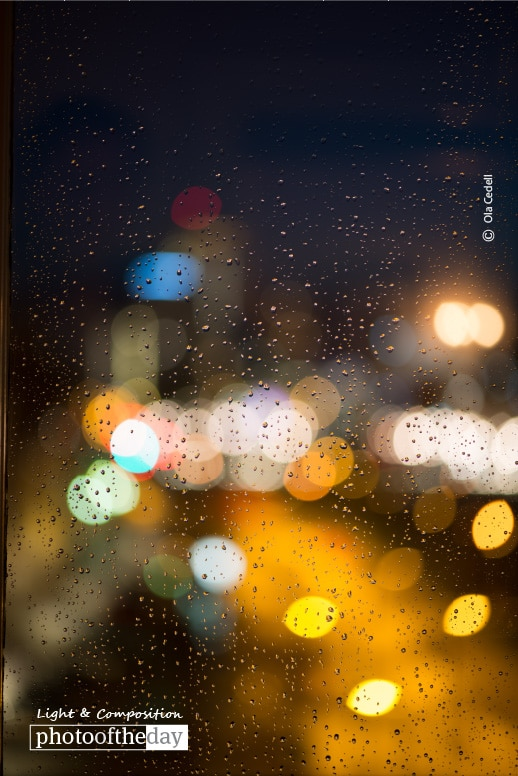 Rainy Friday Evening, by Ola Cedell