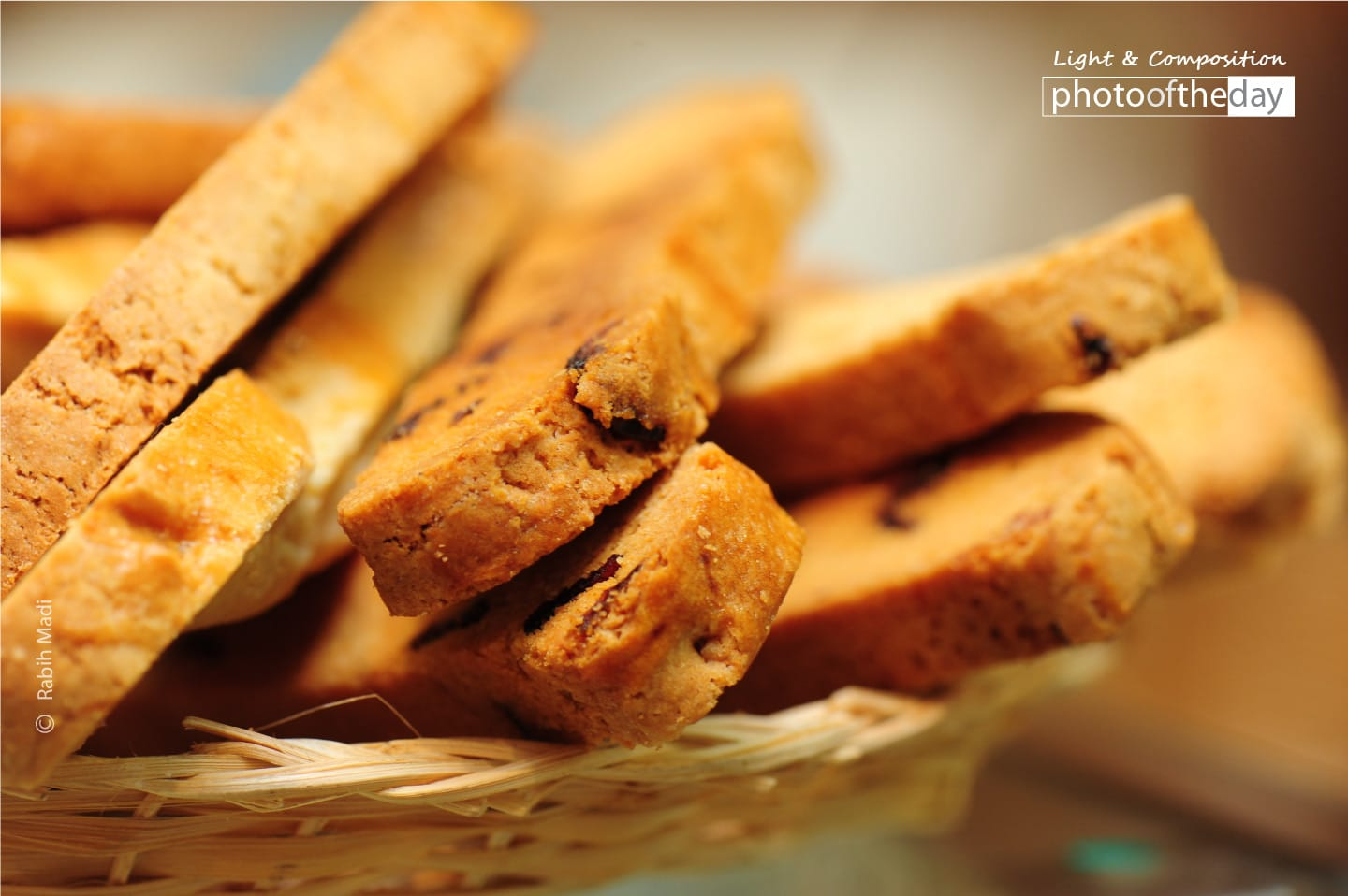 Freshly Made Biscotti, by Rabih Madi