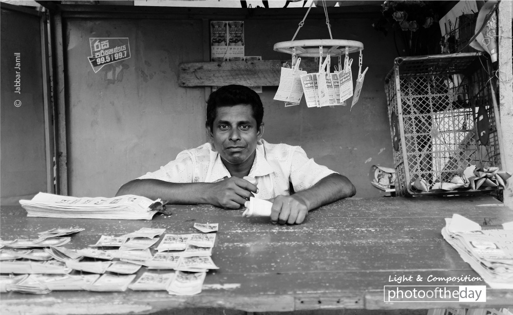 The Lottery Ticket Seller, by Jabbar Jamil
