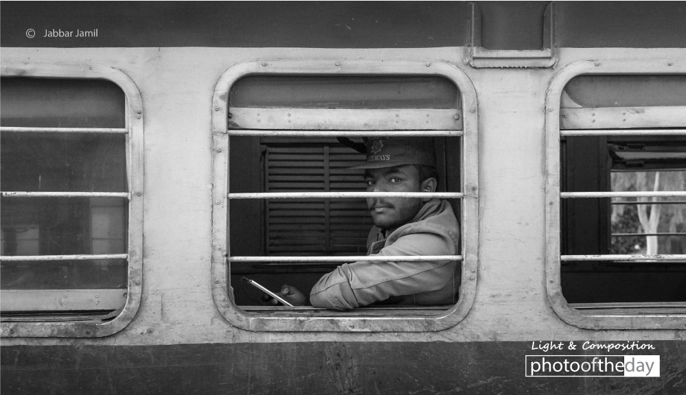A Railway Staff, by Jabbar Jamil