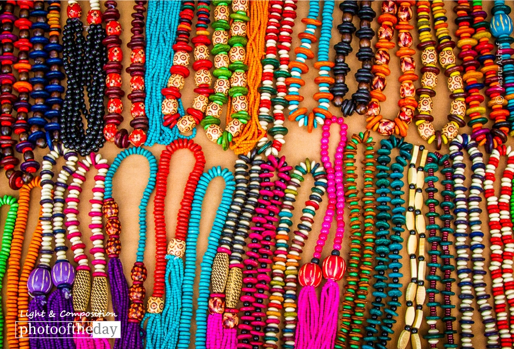 Colorful Beads, by Masrur Ashraf
