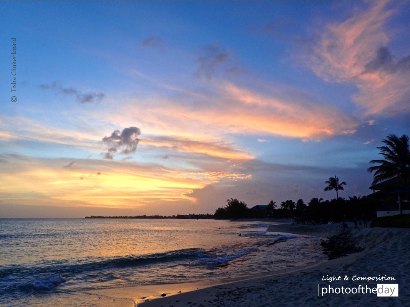 Cayman Sunset, by Tisha Clinkenbeard