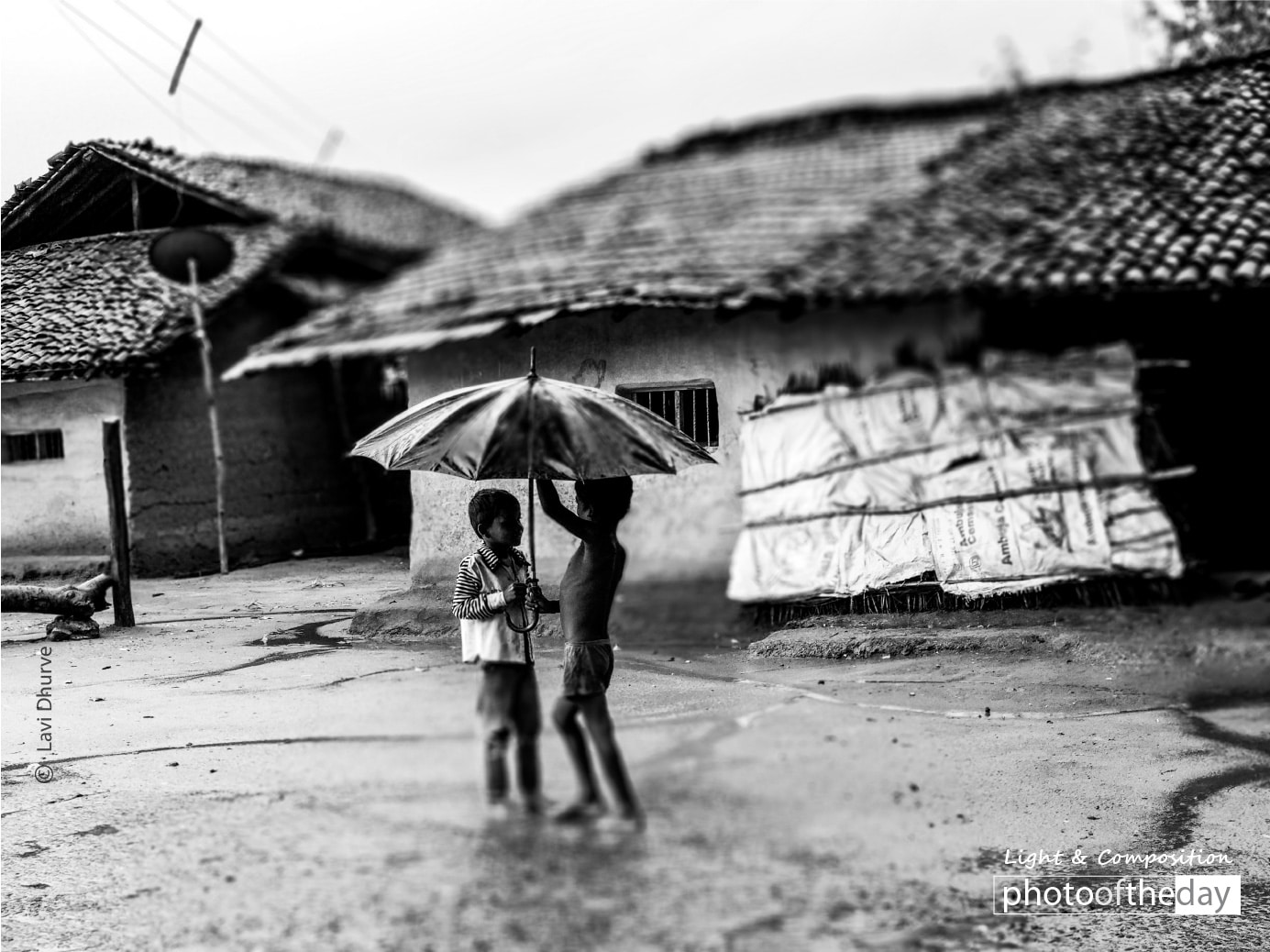 Fixing Umbrella, by Lavi Dhurve