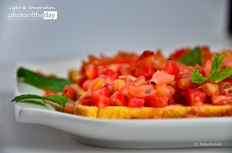 A Nice Summer Appetizer, by Rasha Rashad