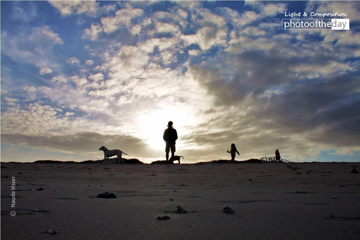 Sunset Silhouette, by Naude Visser
