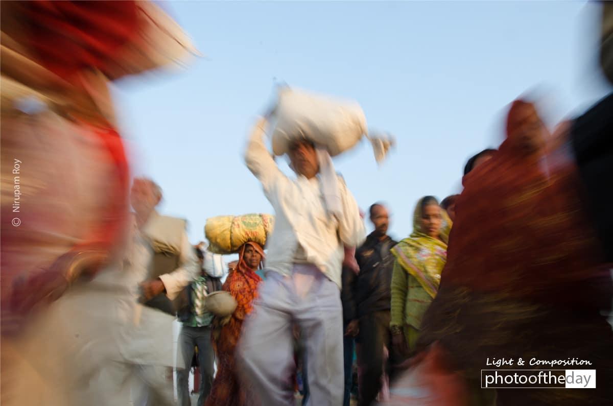 Returning From Kumbha, by Nirupam Roy