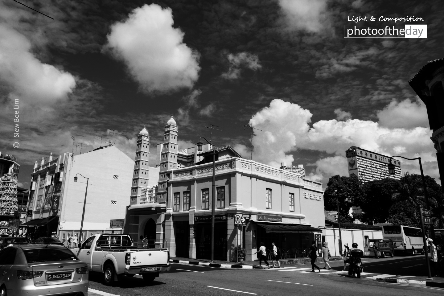 At Mosque Street, by Siew Bee Lim