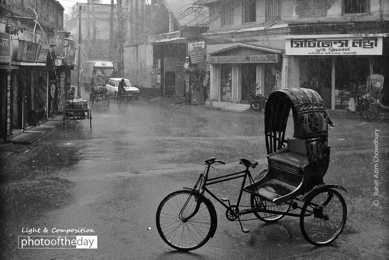A Rainy Day, by Rahat Azim Chowdhury