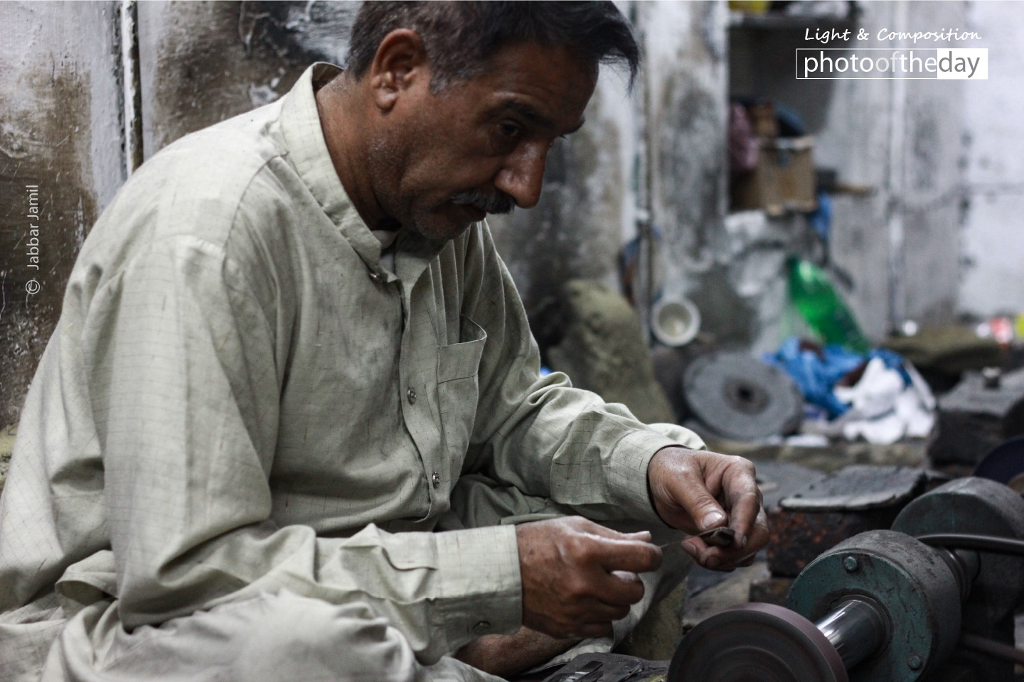 A Worker at Surgical Factory, by Jabbar Jamil
