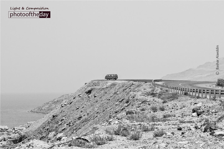 A Van by the Edge, by Bashar Alaeddin