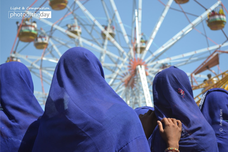 Tribal Women in a Carnival, by Amey Kant