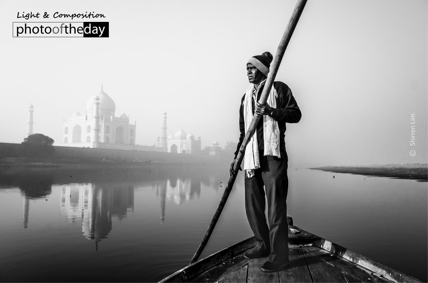 Boatman from Agra by Shirren Lim