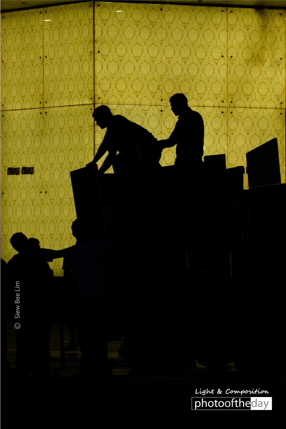 Silhouette of the Movers, by Siew Bee Lim
