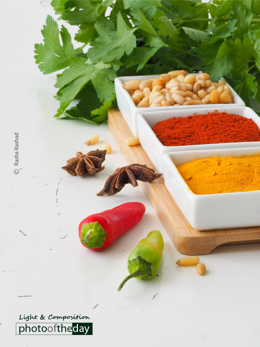 Colourful Spices, by Youandi van Riet