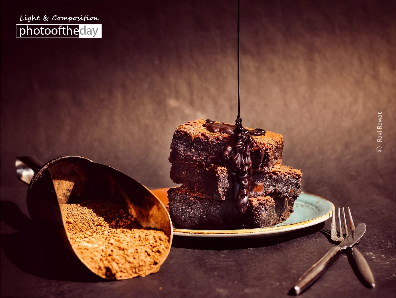 Signature Chocolate Brownie by Ravi Rawat