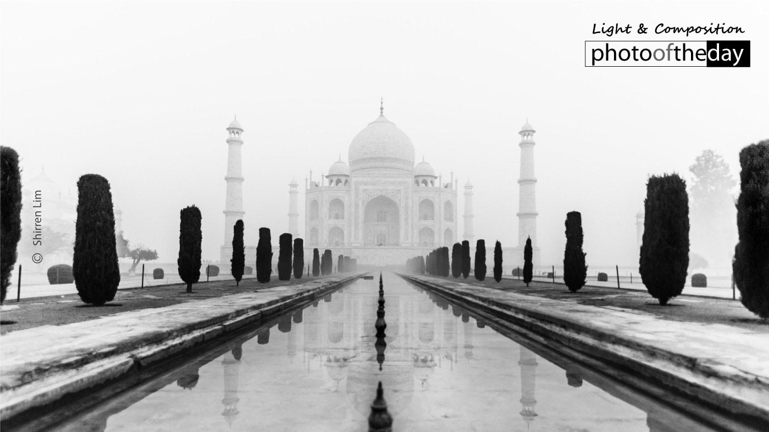 Taj Mahal by Shirren Lim