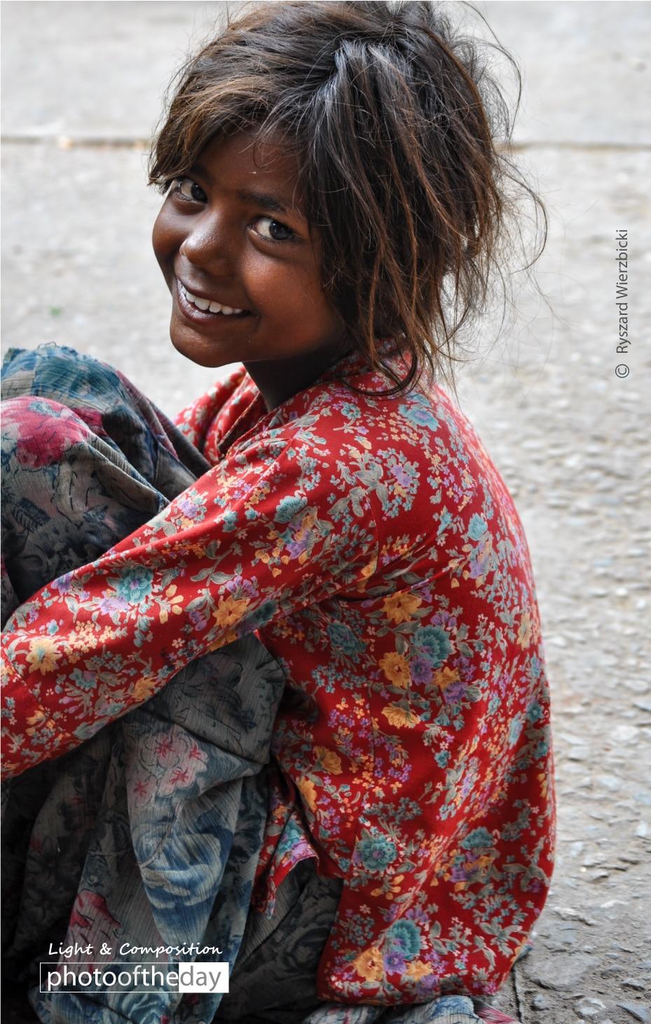 A Cheerful Smile by Ryszard Wierzbicki