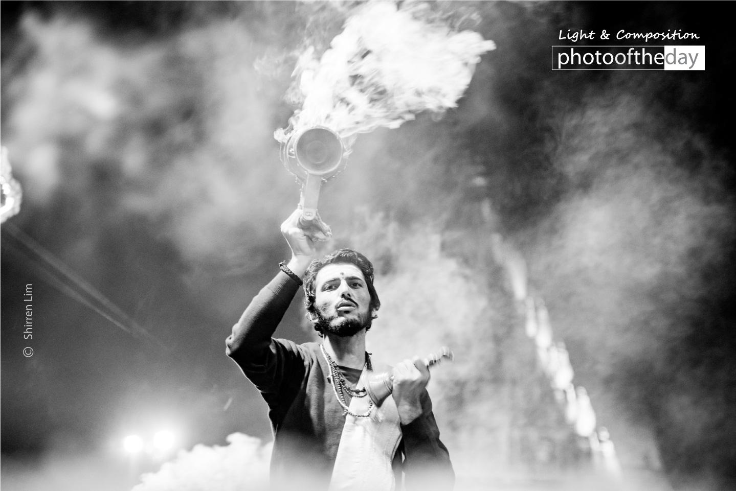Ganga Aarti by Shirren Lim