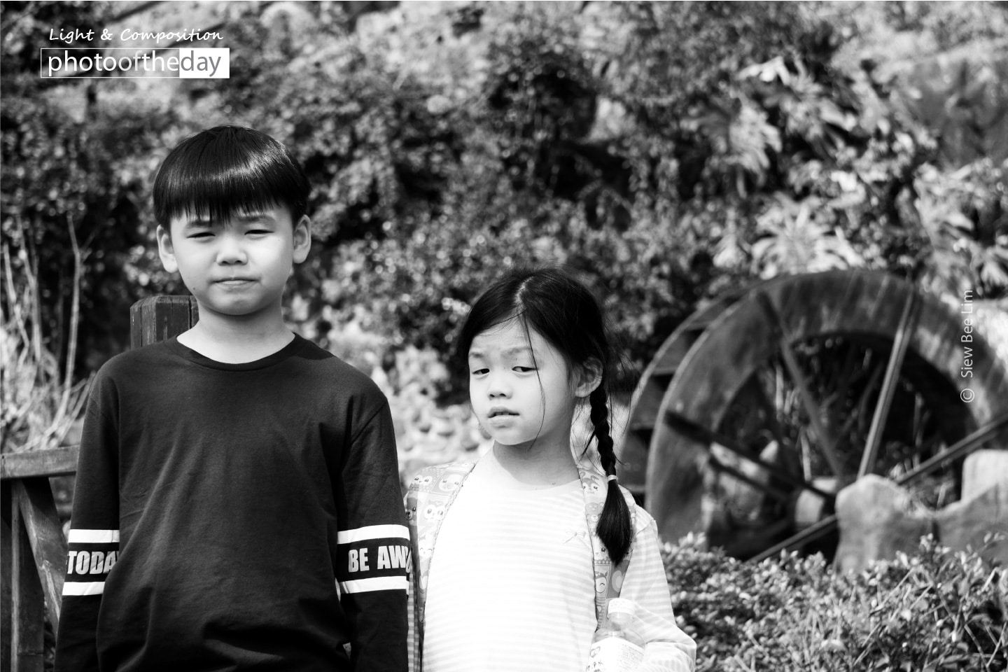 Two Young Travellers by Siew Bee Lim